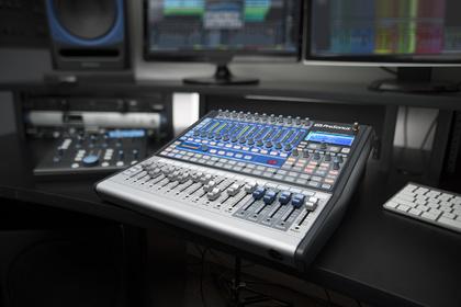 PreSonus stattet den kompakten Digitalmixer StudioLive 16.0.2 mit USB aus