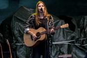 Hanne Kah: Live-Bilder der sympathischen Sängerin im Schwimmbad Elz