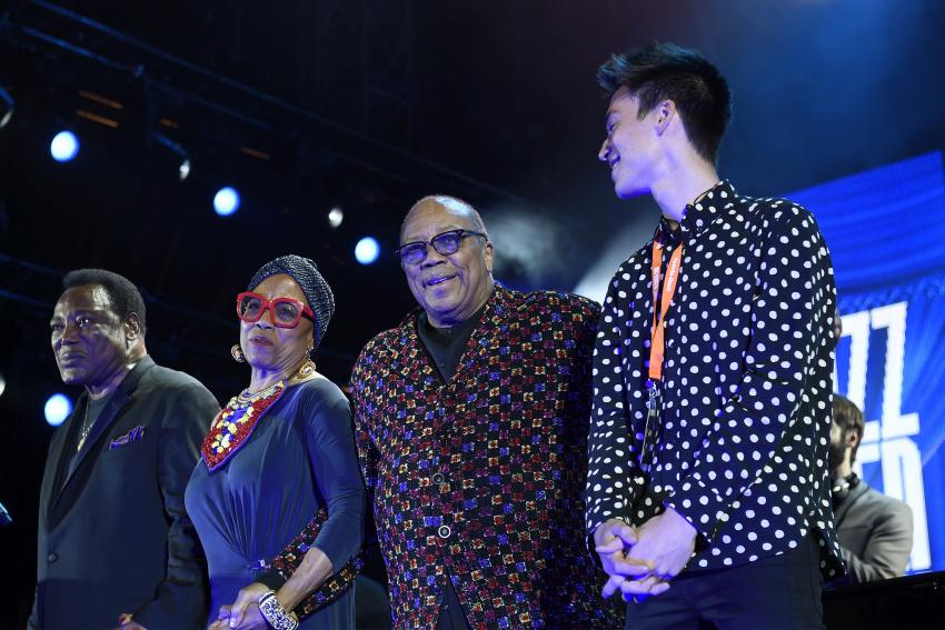 Quincy Jones (live bei den Jazzopen Stuttgart, 2017)