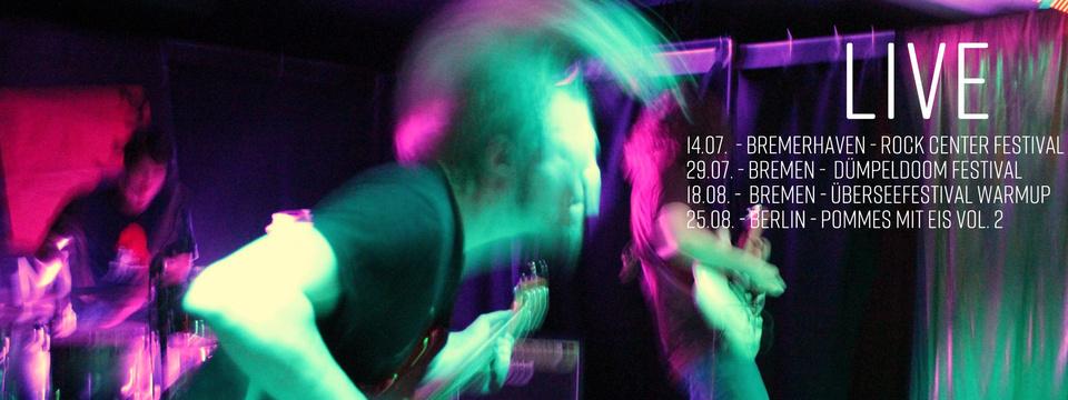 'Tidal Wave'-Release-Tour: Hamburg
