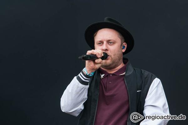 D, D, Deutscher Rap - Publikumsnah: Rapper Fatoni live auf dem Deichbrand Festival 2017