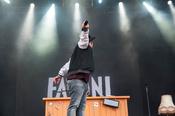Publikumsnah: Rapper Fatoni live auf dem Deichbrand Festival 2017