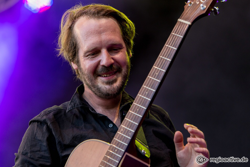 Gisbert zu Knyphausen (live beim Heimspiel Knyphausen in Eltville 2017)