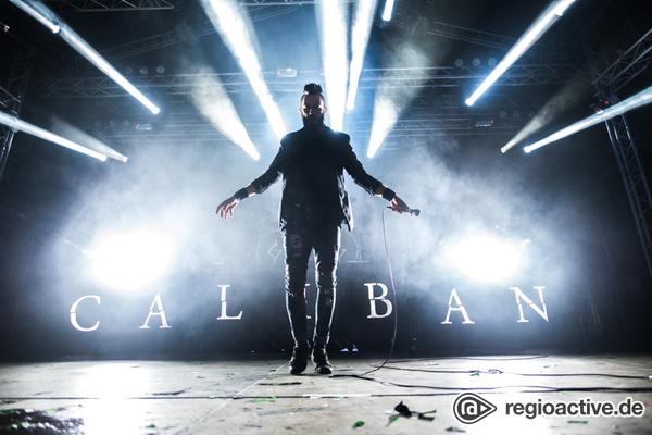 Fetzige mitreißende Sounds - Caliban: Fotos der Metalcore-Band live beim Traffic Jam Open Air 2017