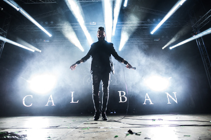Fetzige mitreißende Sounds - Caliban: Fotos der Metalcore-Band live beim Traffic Jam Open Air 2017