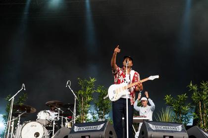Jamaicafeeling - Patrice: Live-Fotos des Reggae-Königs vom Deichbrand Festival 2017