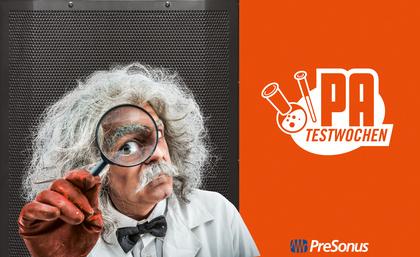 14 Tage ausporobieren möglich - PreSonus PA-Test-Wochen mit neuer AIR-Serie