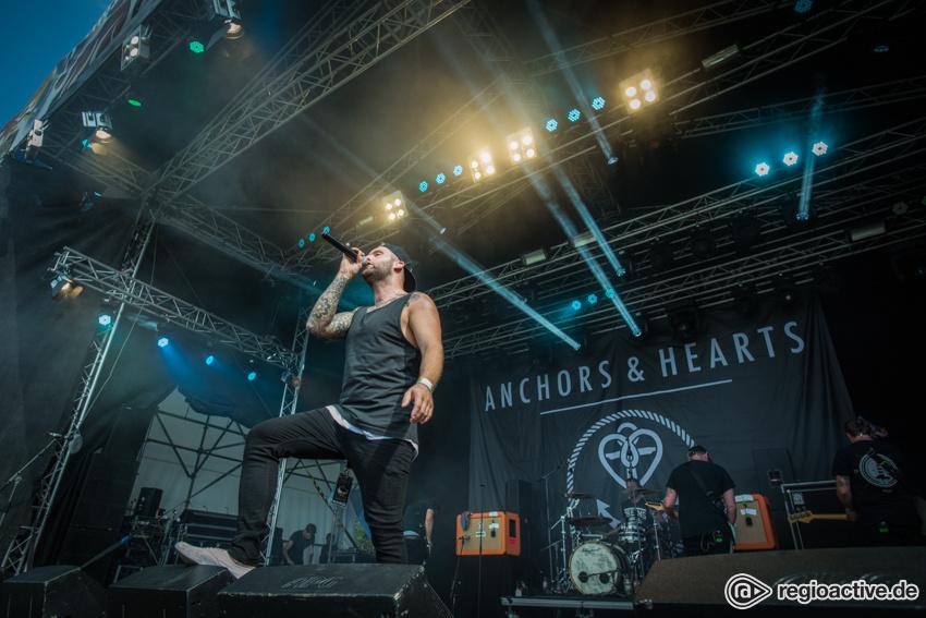 Anchors & Hearts (live beim Traffic Jam Open Air 2017)