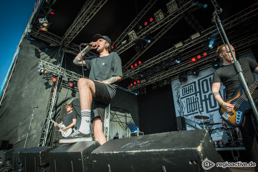 Our Hollow Our Home live beim Traffic Jam Open Air 2017