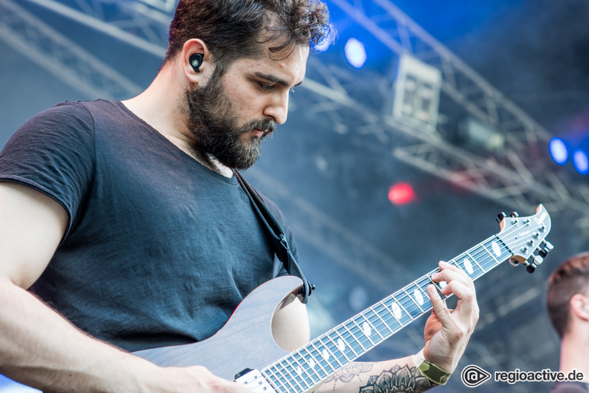 Of Colours live beim Traffic Jam Open Air 2017