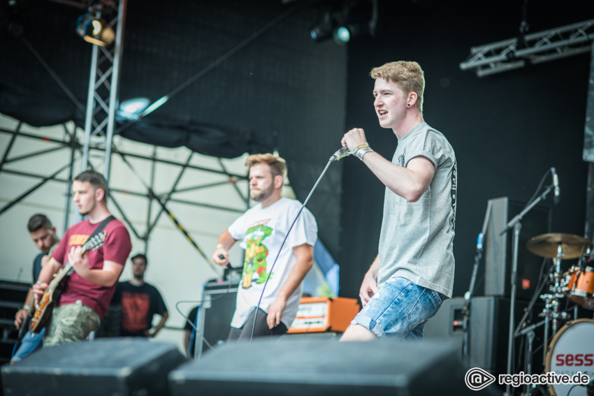 Some Kind Of Hope live beim Traffic Jam Open Air 2017