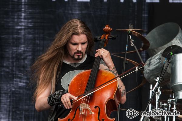 Metallica gestrichen - Mit Cellos: Fotos von Apocalyptica live beim Deichbrand Festival 2017