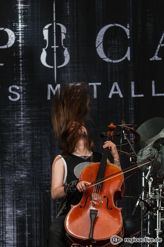 Apocalyptica (live beim Deichbrand Festival 2017)