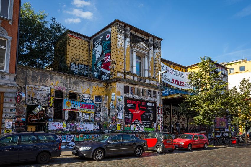 Clubbetreiber in Hamburg solidarisieren sich mit dem Kulturzentrum Rote Flora