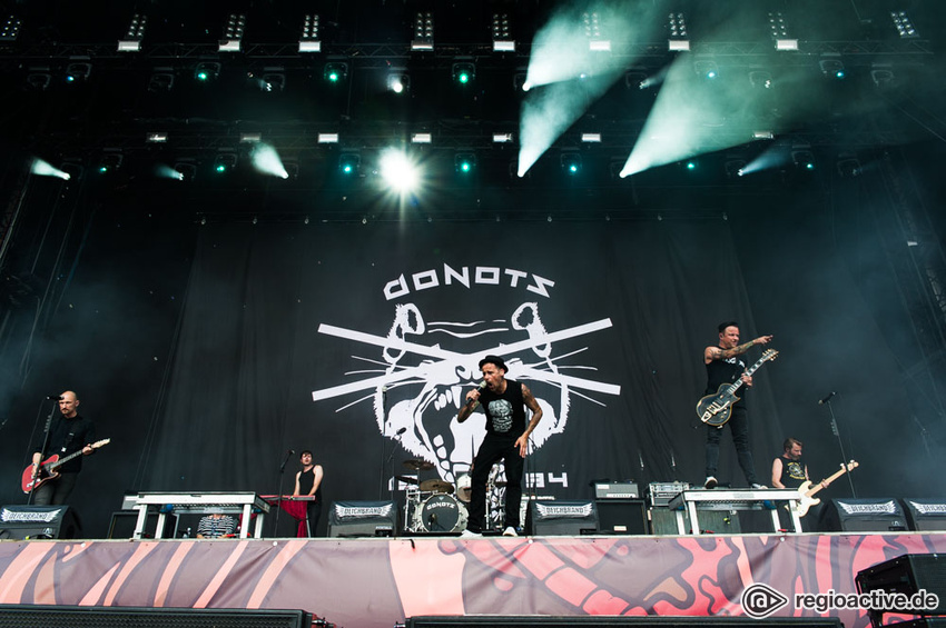 Donots (live beim Deichbrand Festival 2017)
