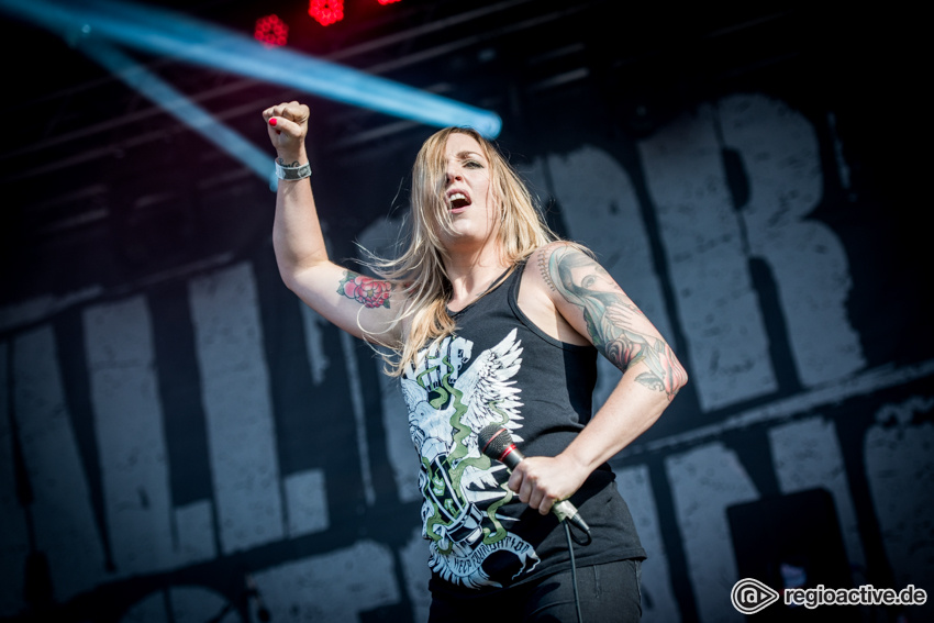 All For Nothing live beim Traffic Jam Open Air 2017