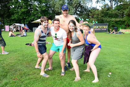 Sommerlich - Impressionen vom Samstag beim Trebur Open Air 2017
