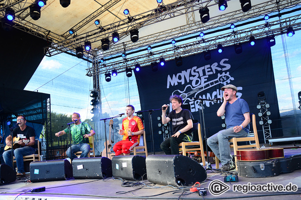 Die 6 Musketiere - Live-Fotos von Monsters of Liedermaching beim Trebur Open Air 2017