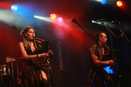 Mittelalterlicher Metal - Fantasie-Folk: Live-Bilder von Irdorath beim Wacken Open Air 2017