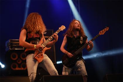 Verboten lautstark! - Vorbid: Live-Bilder der Metaller beim Wacken Open Air 2017