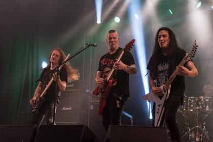Vernichtender Metal-Tornado - Energiegeladen: Live-Bilder von Annihilator beim Wacken Open Air 2017