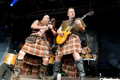 Metal-Patrouille aus Schottland - Saor Patrol: Live-Bilder der Folk-Rocker beim Wacken Open Air 2017