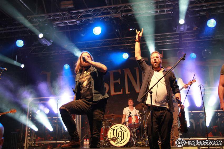 Versengold live auf dem Wacken Open Air, 2017