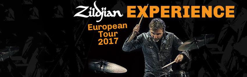 """Besuche die """"Zildjian Experience Days"""" und gewinne ein exklusives, signiertes Becken!"""