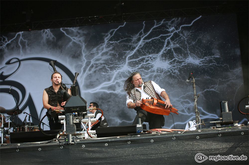 Saltatio Mortis live auf dem Wacken Open Air, 2017