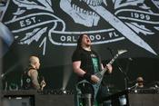 Groovig: Bilder von Trivium live beim Wacken Open Air 2017