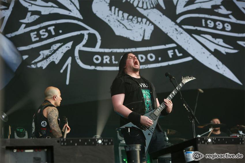 Trivium live auf dem Wacken Open Air, 2017