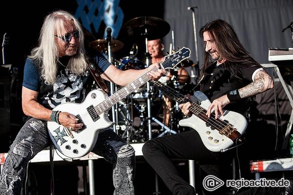 Ungezähmt - Live-Bilder von Uriah Heep als Special Guest von Status Quo in Schwetzingen