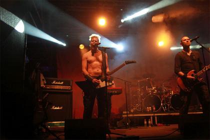 Ice, Ice Baby - Skamöld: Bilder der isländischen Viking-Metal-Band beim Wacken Open Air 2017