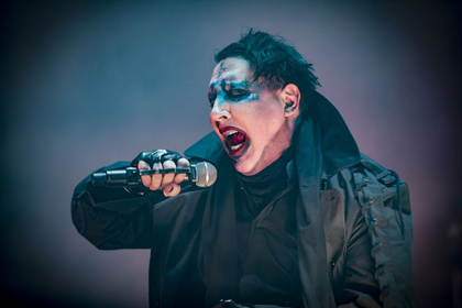 Shock Through The Heart - Marilyn Manson: Bilder seiner furchterregenden Performance beim Wacken Open Air 2017