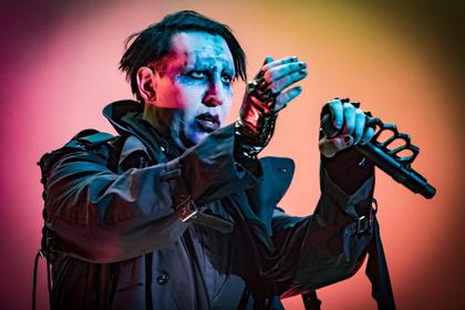 Bühnenunfall in New York - Marilyn Manson - Shows wegen Verletzung abgesagt