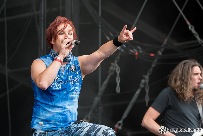 Sonata Arctica live auf dem Wacken Open Air, 2017