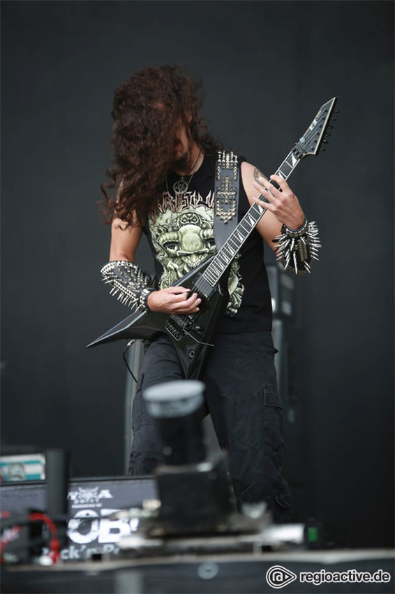 Possessed live auf dem Wacken Open Air, 2017