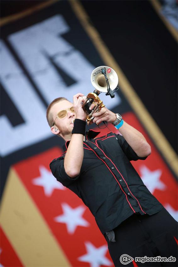 Russkaja live auf dem Wacken Open Air, 2017