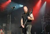 Fotos der finnischen Band Wolfheart live beim Wacken Open Air 2017