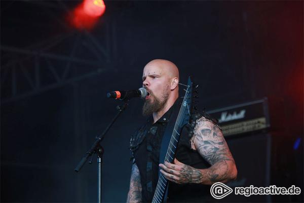 Das Herz am rechten Fleck - Fotos der finnischen Band Wolfheart live beim Wacken Open Air 2017