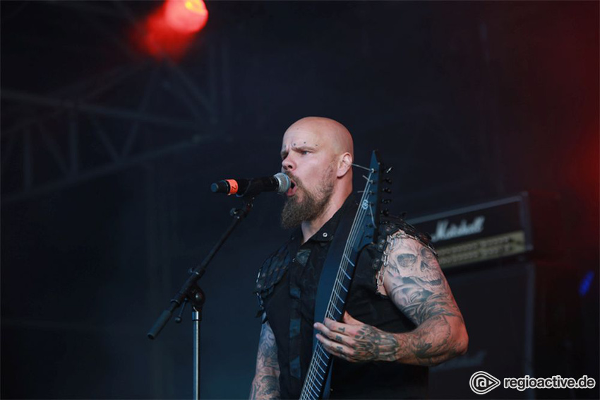 Wolfheart live auf dem Wacken Open Air, 2017