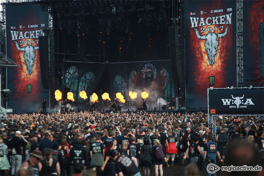 Impressionen vom Wacken Open Air, 2017