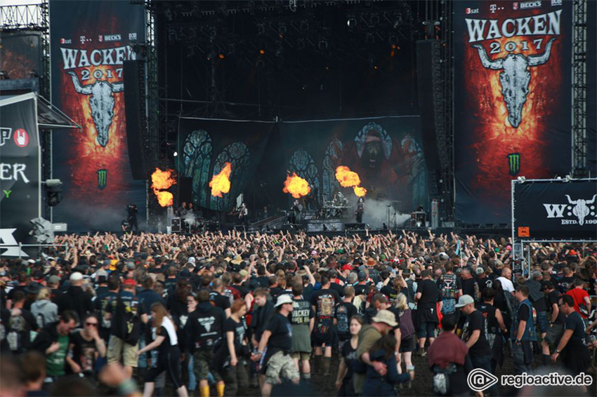 Impressionen vom Wacken Open Air, 2017