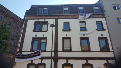 Der Wandel setzt ein - Gentrifizierung im Mannheimer Jungbusch: Hafenstraße 66 von Aktivisten besetzt