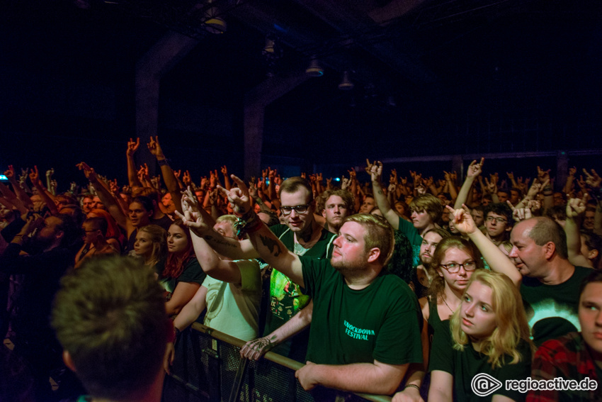 Fit For An Autopsy live im Schlachthof Wiesbaden