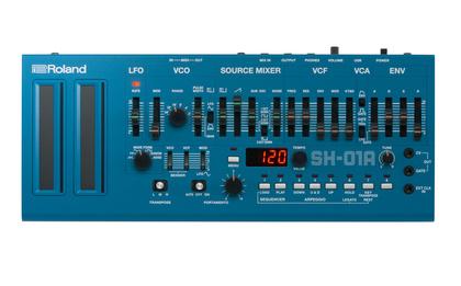 Zuwachs für die Boutique-Serie - Roland präsentiert den TR-08 Rhythm Composer, den SH-01A Synthesizer und den SP-404A Linear Wave Sampler