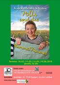 """""""Polli und die Hummel Pummel"""" Ein Theaterstück für Kinder ab 3 Jahren von Alexander Wenz in Stuttgart, Theater, 18.02.2018, ABV Zimmertheater - Tickets -"""