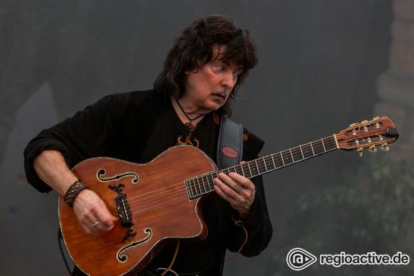 Im alten Gewand - Renaissance: Live-Fotos von Blackmore's Night im Amphitheater Hanau