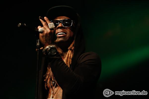 Dicke Verspätung - Lil Wayne polarisiert bei seinem Auftritt im LKA-Longhorn in Stuttgart