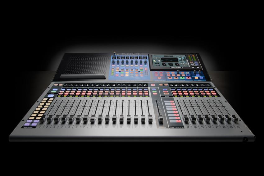 PreSonus StudioLive Series III mit dem neuen 24er-Pult jetzt komplett